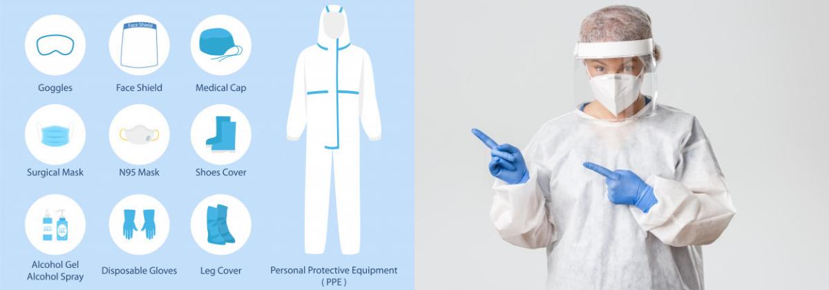 Why personal protective equipment (PPE) are important?